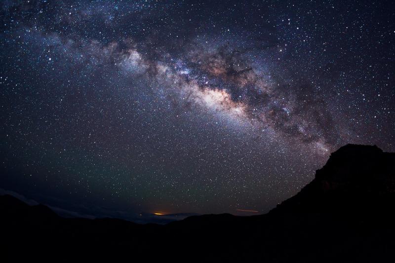 Stars Above Haleakala, Haleakala National Park, Maui, HI