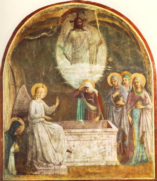 Resurrection_of_Christ_and_Women_at_the_Tomb_by_Fra_Angelico_(San_Marco_cell_8)