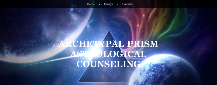 Archetypal Astrology Counseling Website