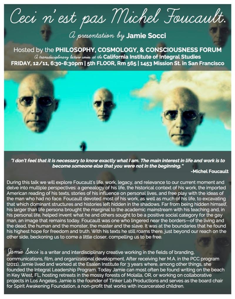 Michel Foucault Socci 12.11.15 PCC Forum 2 (1)