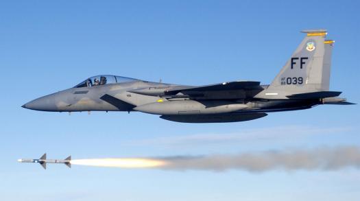 USAF_F-15C_fires_AIM-7_Sparrow_2