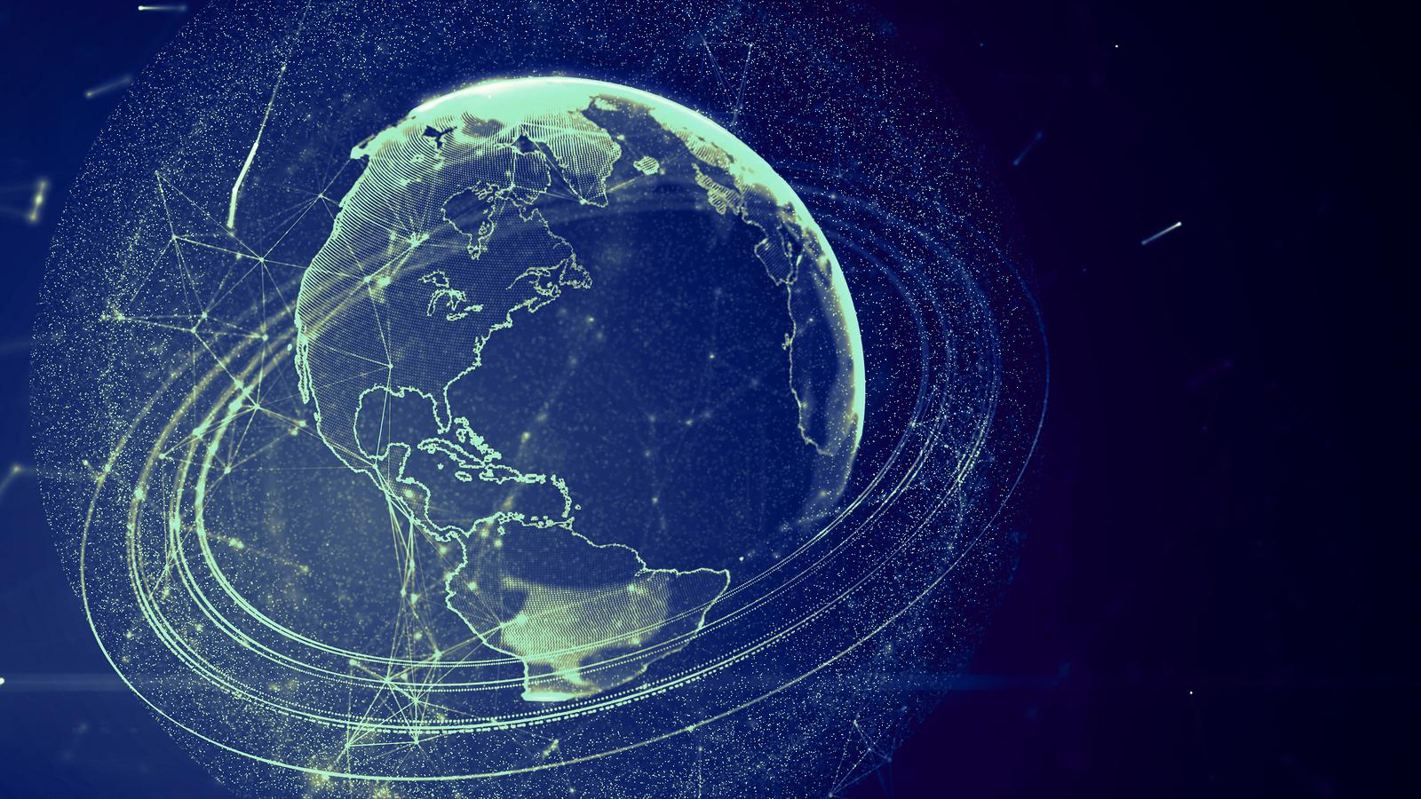 Detailed Virtual Planet Earthmatthewdsegall