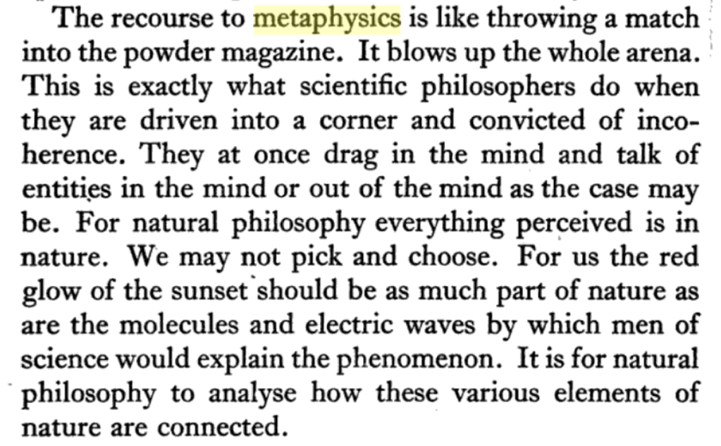 Consciousness between Science and Philosophy (response to